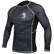 Рашгард Hayabusa Metaru Black L/S