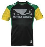 Футболка Bad Boy Performance Walk In Tee Black/Green/Yellow