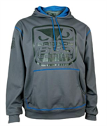 Толстовка Bad Boy Fight DNA Performance Blue/Grey
