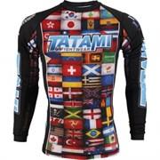 Рашгард Tatami Dean Lister Flags Rash Guard