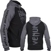 Толстовка Venum Pro Team 2.0 Hoody - Black/Grey