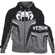 Толстовка Venum Shockwave 3.0 Grey/Black