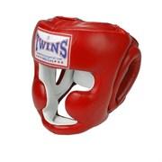 Боксерский шлем Twins, тренировочный, крепление на шнурках L
