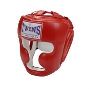 Боксерский шлем Twins, тренировочный, крепление на липучке M