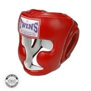 Боксерский шлем Twins, тренировочный, крепление на резинке XL
