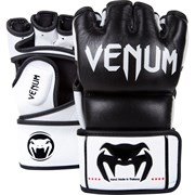 Перчатки ММА Venum Undisputed Black Nappa Leather