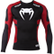 Рашгард Venum Absolute Compression T-Shirt - Black/Red - Long Sleeves - фото 11051