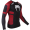 Рашгард Venum Absolute Compression T-Shirt - Black/Red - Long Sleeves - фото 11052