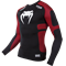 Рашгард Venum Absolute Compression T-Shirt - Black/Red - Long Sleeves - фото 11053