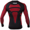 Рашгард Venum Absolute Compression T-Shirt - Black/Red - Long Sleeves - фото 11054