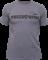 Футболка Fedor Team темно-серая с черным изображением - вид спереди