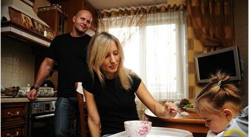 федор емельяненко жена марина фото